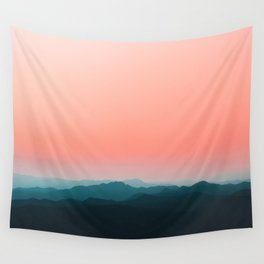 Early morning layers Wall Tapestry