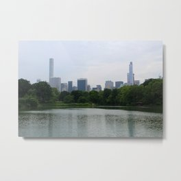 Perk of Central Park Metal Print