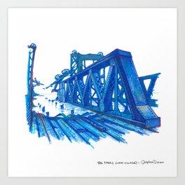 NYC Pride: The Piers Art Print