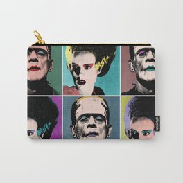 Mr. & Mrs. Frankenstein's Monster Carry-All Pouch