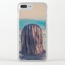 WOMAN - HAIR - WATER - PHOTOGRAPHY Clear iPhone Case