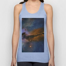 Stellar Spire in the Eagle Nebula Unisex Tank Top