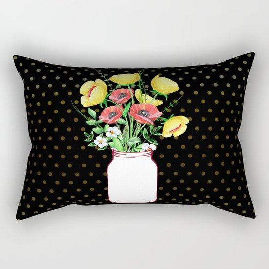 Mason Jar #3 Rectangular Pillow