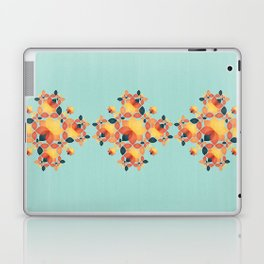 Orange Garden Pattern Laptop & iPad Skin