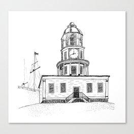 Halifax Town Clock Canvas Print