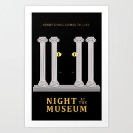 Night at the Museum Art Print
