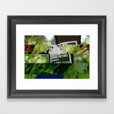 crash_ 07 Framed Art Print