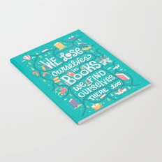 Lose ourselves in books Notebook