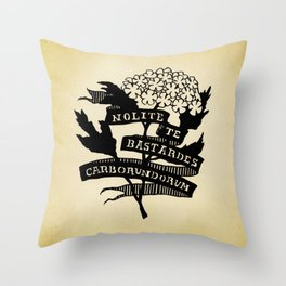Handmaid's Tale - NOLITE TE BASTARDES CARBORUNDORUM Throw Pillow