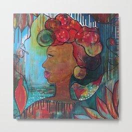"""""""Hope"""" Original Painting by Krista J. Brock Metal Print"""