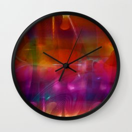 """""""Intersection"""" Wall Clock"""