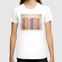 literary T-shirts featuring Literary Gems II by Laura Ruth