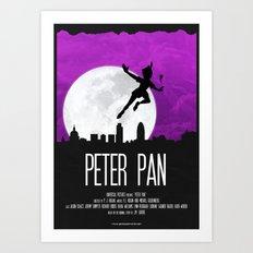 PETER PAN  Art Print