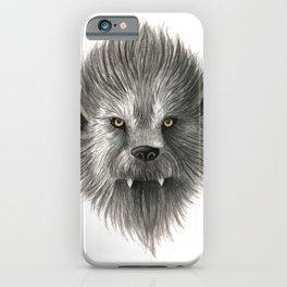 Werewolf beast iPhone Case