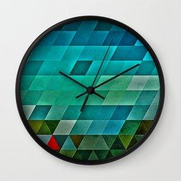 0009 // road Wall Clock