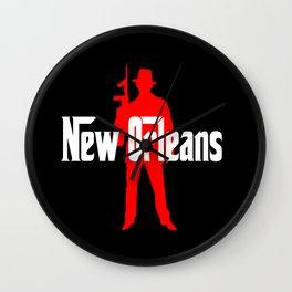 New Orleans mafia Wall Clock