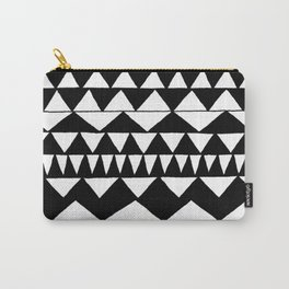 Black Triangles Carry-All Pouch