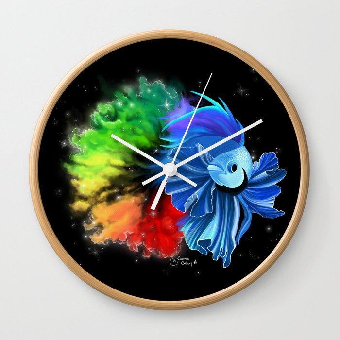 Stellar Betta Wall Clock