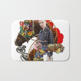 Like a Horse by Lenka Laskoradova Bath Mat