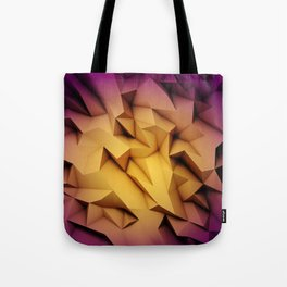 3D Low Poly 1 Tote Bag