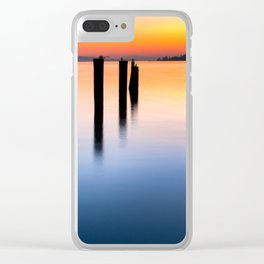 Tacoma Tranquility Clear iPhone Case