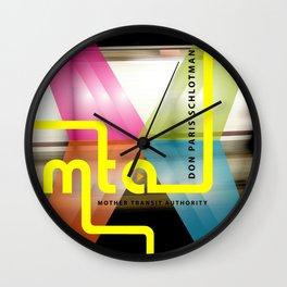 MTA cover Wall Clock