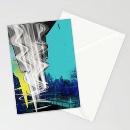 cyan alternative Stationery Cards