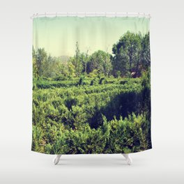 Hide and seek with nature Shower Curtain