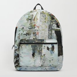 Glimpse with staircase Backpack