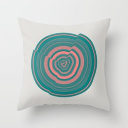 Abstract.01 Throw Pillow