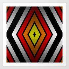 Rhombus Art Print