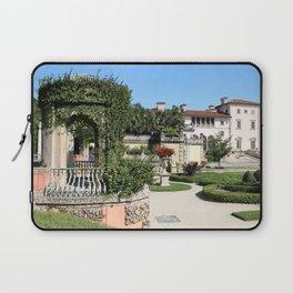 Villa Vizcaya Garden View Laptop Sleeve