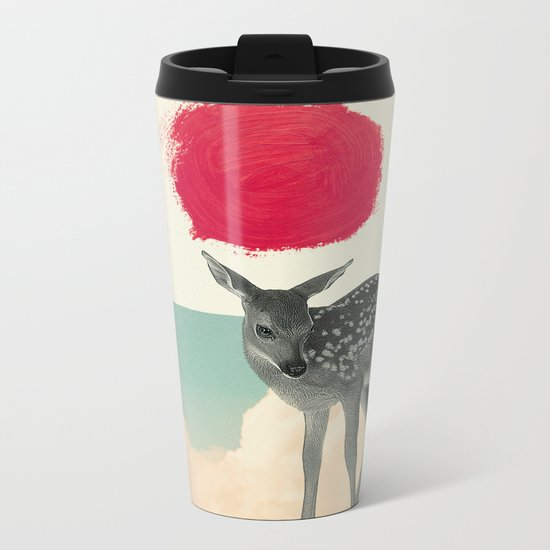 Little Deer Metal Travel Mug