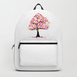 Summer Hearts Tree Backpack