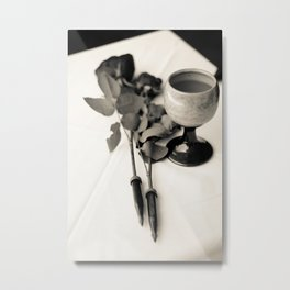 Drink up, Love. Metal Print