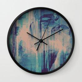 slow glitch Wall Clock