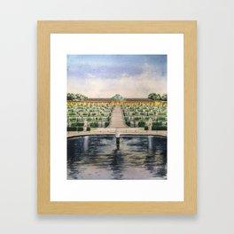 Sanssouci palace Framed Art Print