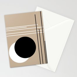 Crossover - Lines and Curves - Set 2 Stationery Cards
