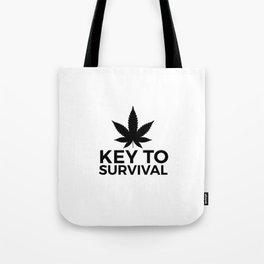 Weed Cannabis leaf gift idea 420 Tote Bag