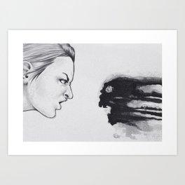 Exposure Therapy Art Print