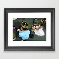 Mini Piano Framed Art Print