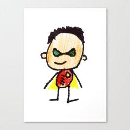 Superhero 2 Canvas Print