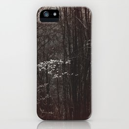 Up in the mountain iPhone Case