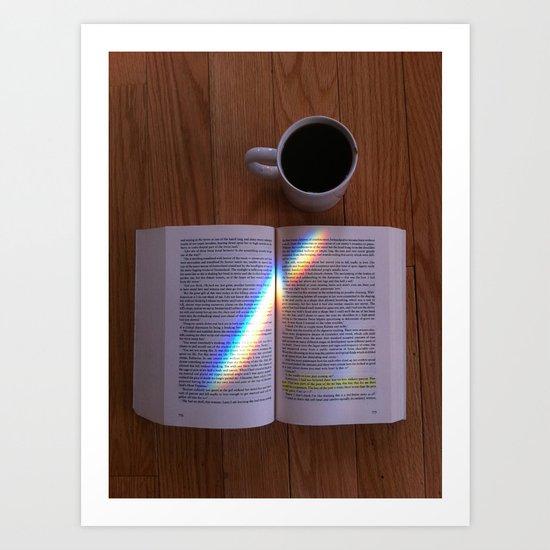 Reading Rainbow Art Print