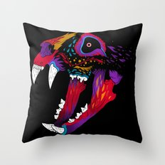El Gato Muerto Throw Pillow