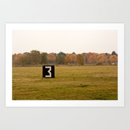The 3 Tempelhof Art Print