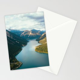 River through mountain Stationery Cards