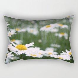 Maybe Daisies. Rectangular Pillow