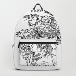 Queen of crows Backpack