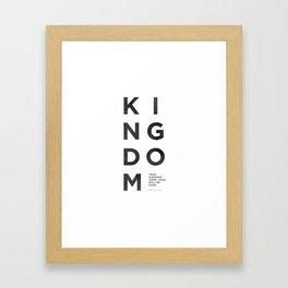 Kingdom Come - Wash Framed Art Print